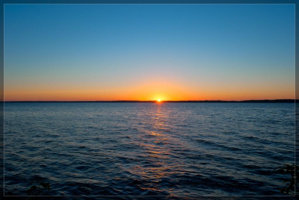Sunrise Over Lake Bemidji
