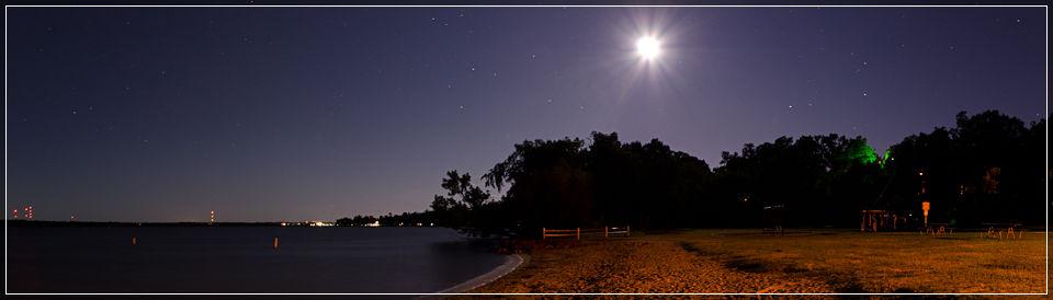 Cameron Park Panoramic, Lake Bemidji, Bemidji, MN